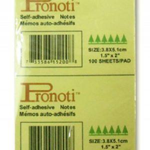 Giấy note vàng 1,5x2 Pronoti 3,8cmx5cm
