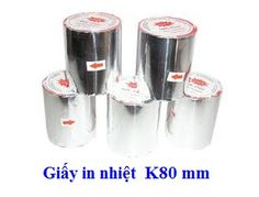 GIÂY IN NHIỆT K80 X80MM