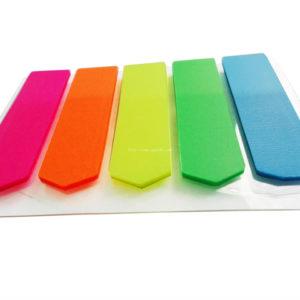 Giấy note 5 màu nhựa Pronoti