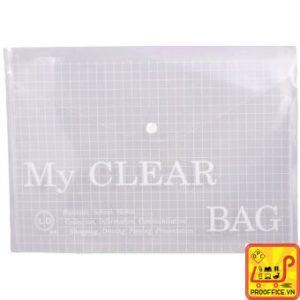 Bìa nút F4 My clear rẻ đẹp