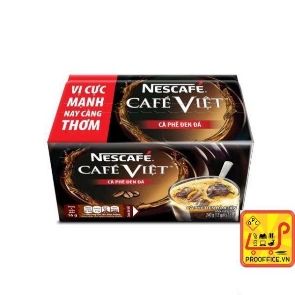 Cafe NESCAFÉ Café Việt - Cà Phê Đen Đá