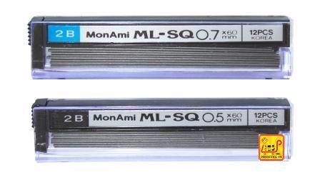 Ruột chì 2B Monami 0,5mm1