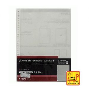 Bìa lỗ Plus A4 900gr