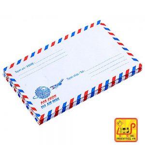 Bao thư bưu điện sọc có keo