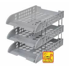 Khay nhựa 3 tầng Deli - 9217