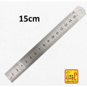 Thước kẻ sắt 15cm