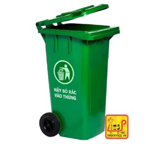 Thùng rác Hiệp Thành 60l - có bánh xe