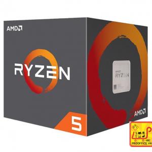 CPU AMD Ryzen 5 2600 có tản Wraith Stealth (6-core-12-thread; 3.4GHz-3.9GHz; 19MB; 65W TDP)