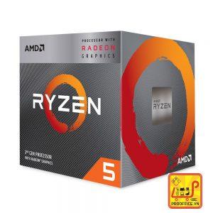 CPU AMD Ryzen 5 3400G, with Wraith Spire cooler_3.7 GHz 1