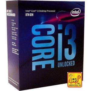 CPU Intel Core i3-8100 (3.6Ghz_ 4 nhân 4 luồng_ 1151v2-CoffeeLake_6MB)