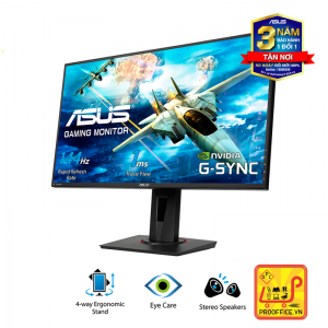 Màn Hình Gaming ASUS VG278Q 27' 144Hz 1ms G-SYNC Compatible, Adaptive-Sync Full HD 2 Loa