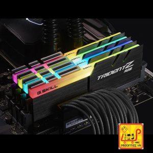 Ram GSkill TRIDENT Z RGB 8GB (8GBx1) DDR4 3000MHz (F4-3000C16S-8GTZR)
